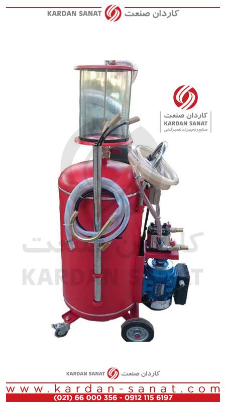 ساکشن روغن موتور ایرانی برقی