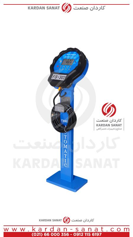 دستگاه درجه باد ایستاده اتوماتیک FS-302