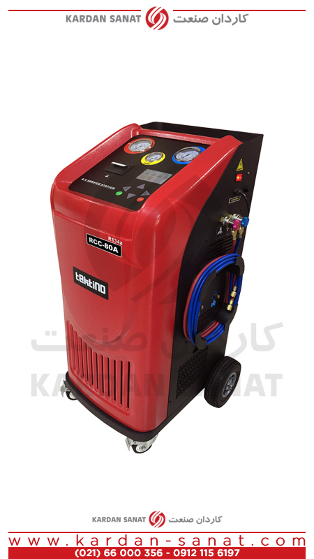 دستگاه شارژ گاز کولر تکتینو اتوماتیک