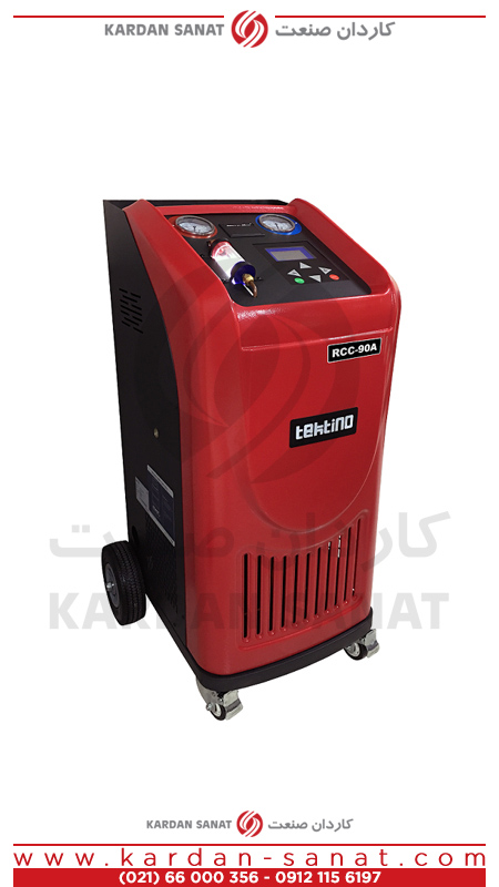 دستگاه شارژ گاز کولر اتوماتیک تکتینو